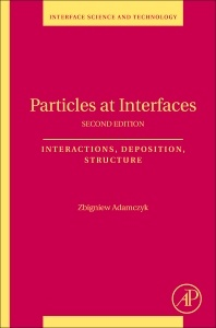 Cover of the book Particles at Interfaces
