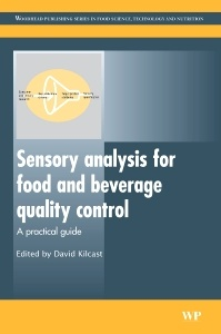 Cover of the book Sensory Analysis for Food and Beverage Quality Control