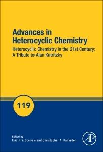 Couverture de l'ouvrage Advances in Heterocyclic Chemistry