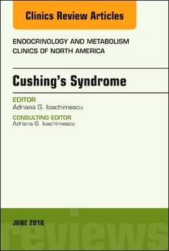 Couverture de l'ouvrage Cushing's Syndrome, An Issue of Endocrinology and Metabolism Clinics of North America