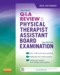 Couverture de l'ouvrage Saunders Q&A Review for the Physical Therapist Assistant Board Examination