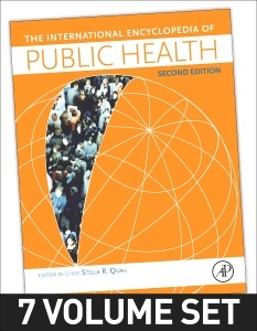 Cover of the book International Encyclopedia of Public Health
