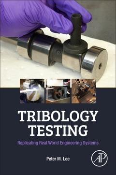 Couverture de l'ouvrage Tribology Testing