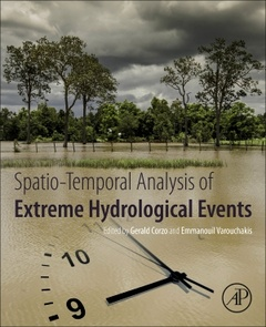 Cover of the book Spatio-temporal Analysis of Extreme Hydrological Events