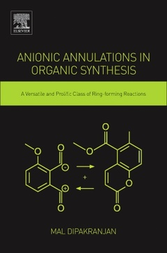 Cover of the book Anionic Annulations in Organic Synthesis