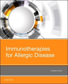 Couverture de l'ouvrage Immunotherapies for Allergic Disease