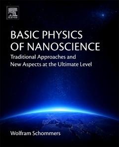 Couverture de l'ouvrage Basic Physics of Nanoscience