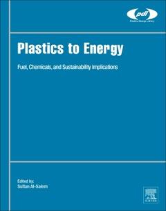Couverture de l'ouvrage Plastics to Energy