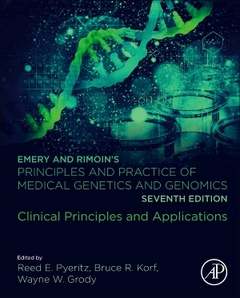 Couverture de l'ouvrage Emery and Rimoin's Principles and Practice of Medical Genetics and Genomics