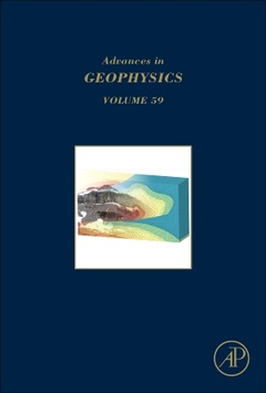 Cover of the book Advances in Geophysics
