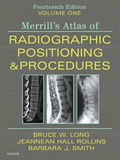 Cover of the book Merrill's Atlas of Radiographic Positioning and Procedures