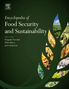 Couverture de l'ouvrage Encyclopedia of Food Security and Sustainability