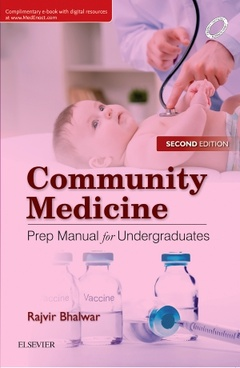 Cover of the book Community Medicine: Prep Manual for Undergraduates