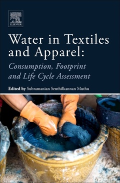 Cover of the book Water in Textiles and Apparel