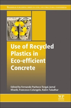 Cover of the book Use of Recycled Plastics in Eco-efficient Concrete
