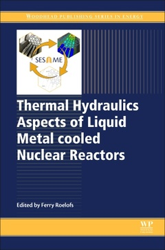 Couverture de l'ouvrage Thermal Hydraulics Aspects of Liquid Metal cooled Nuclear Reactors