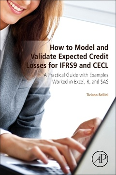 Cover of the book How to Model and Validate Expected Credit Losses for IFRS9 and CECL