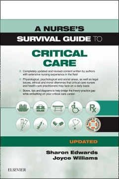 Cover of the book A Nurse's Survival Guide to Critical Care - Updated Edition