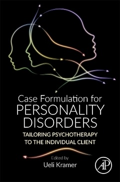 Couverture de l'ouvrage Case Formulation for Personality Disorders
