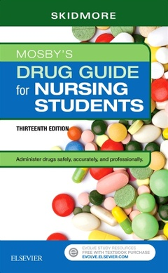 Cover of the book Mosby's Drug Guide for Nursing Students with 2019 Update