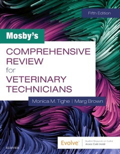 Cover of the book Mosby's Comprehensive Review for Veterinary Technicians