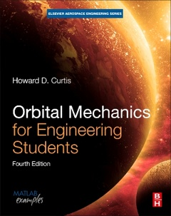 Cover of the book Orbital Mechanics for Engineering Students