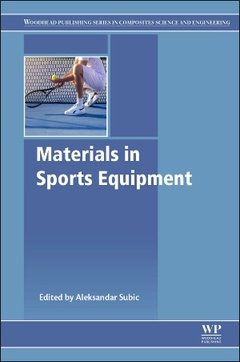 Cover of the book Materials in Sports Equipment