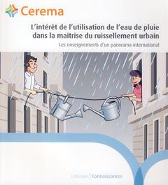 Couverture de l'ouvrage L'intérêt de l'utilisation de l'eau de pluie dans la maîtrise du ruissellement urbain