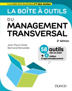 Couverture de l'ouvrage La boîte à outils du Management transversal