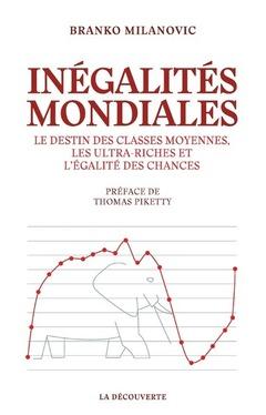Couverture de l'ouvrage Inégalités mondiales