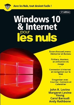 Couverture de l'ouvrage Windows 10 et Internet