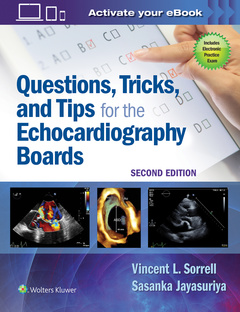 Cover of the book Questions, Tricks, and Tips for the Echocardiography Boards
