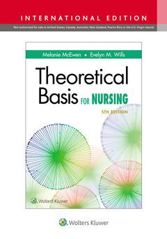 Couverture de l'ouvrage Theoretical Basis for Nursing