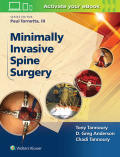 Couverture de l'ouvrage Minimally Invasive Spine Surgery
