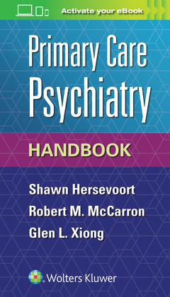 Cover of the book Primary Care Psychiatry Handbook