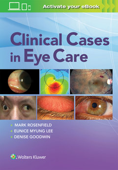 Couverture de l'ouvrage Clinical Cases in Eye Care