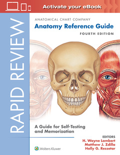 Cover of the book Rapid Review: Anatomy Reference Guide