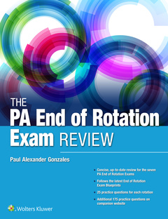 Cover of the book The PA Rotation Exam Review