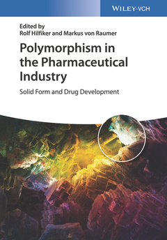 Couverture de l'ouvrage Polymorphism in the Pharmaceutical Industry