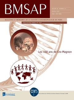 Couverture de l'ouvrage Les 150 ans de Cro-Magnon