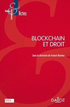 Couverture de l'ouvrage Blockchain et droit