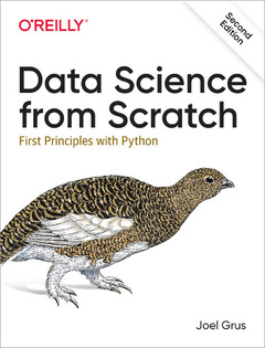 Cover of the book Data Science from Scratch