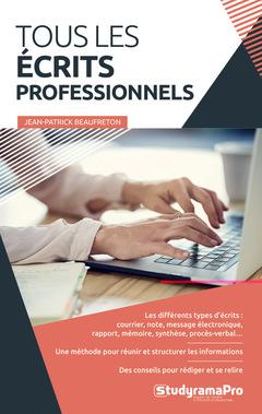 Couverture de l'ouvrage Tous les écrits professionnels