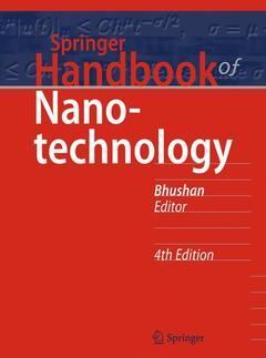Cover of the book Springer Handbook of Nanotechnology