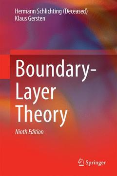 Couverture de l'ouvrage Boundary-Layer Theory (9th Ed.)
