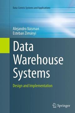 Couverture de l'ouvrage Data Warehouse Systems