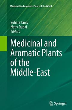 Cover of the book Medicinal and Aromatic Plants of the Middle-East