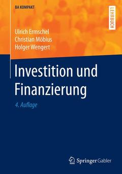 Couverture de l'ouvrage Investition und Finanzierung