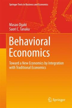 Cover of the book Behavioral Economics