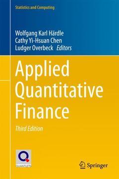 Cover of the book Applied Quantitative Finance